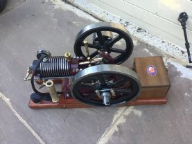 New Build by us  Redwing  1/3 Scale Air-cooled engine
